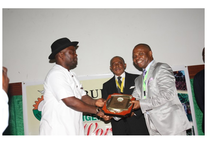 2013 Nigerian Content Award for excellent performance