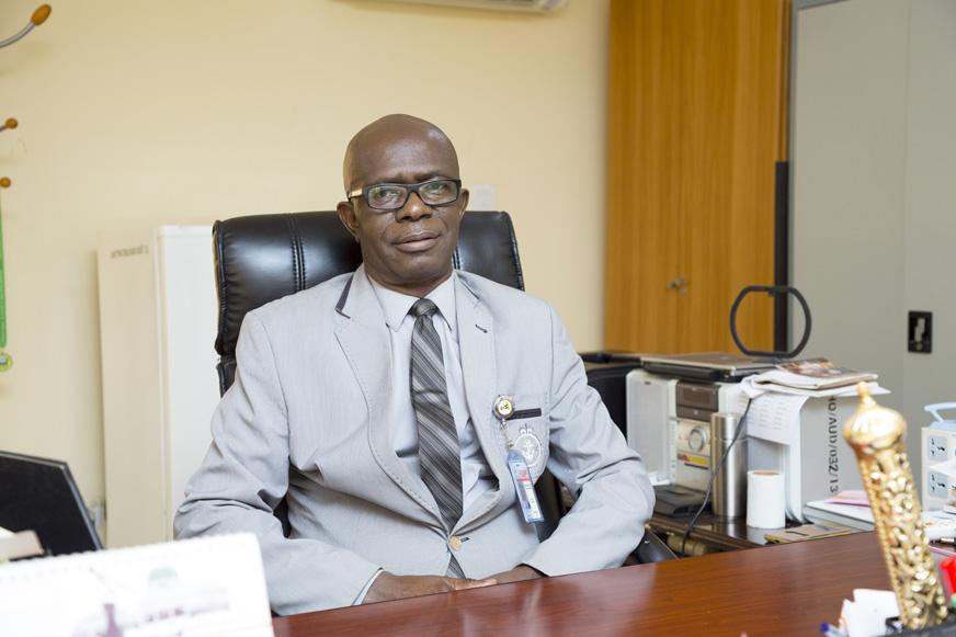 DR. EDEKIN DAVID OLAJIDE UNUIGBOKHAI (PhD , JP+)